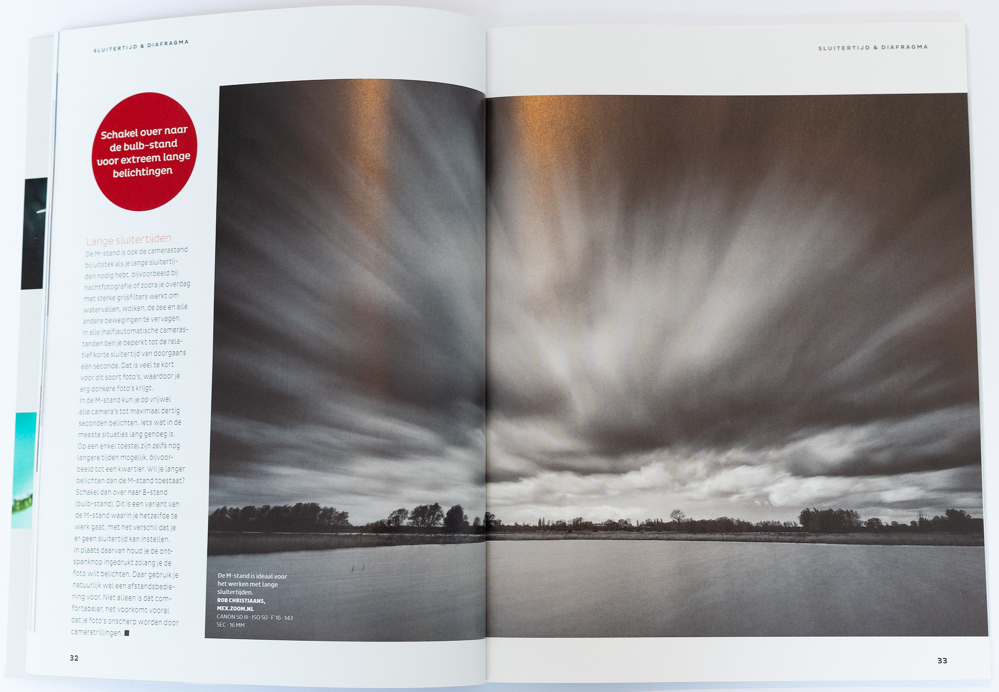 Cursusboek Sluitertijd en Diafragma Zoom Rob Christiaans