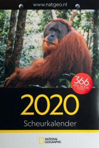 Publicatie National Geographic kalender 2020